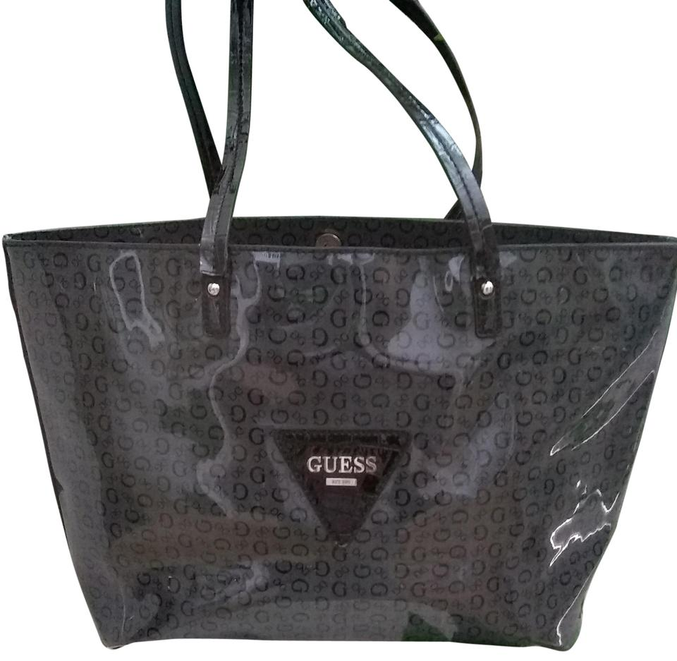 Guess never full dark gray patent leather tote tradesy jpg 960x937 Guess  leather tote bags 9c32a946010f7