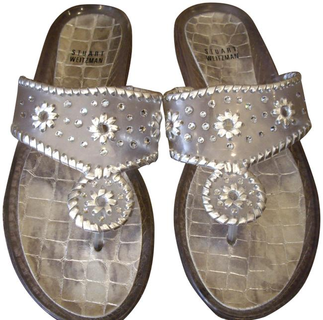 Item - Clear Jelly Crystal And Sandals Size US 9.5 Regular (M, B)