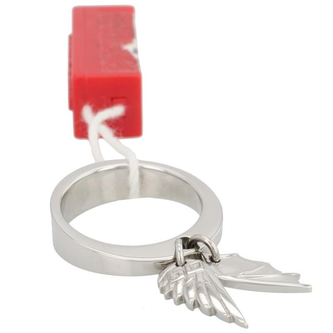 """Item - Silver """"Wings"""" Collection Charm Women's Ring-10 Ring"""