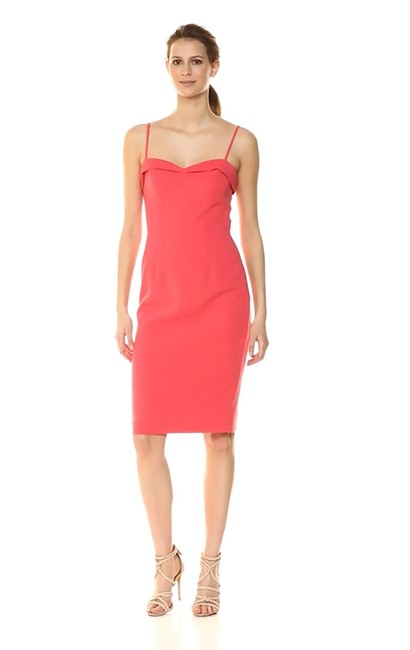 Item - Coral Clover Sheath Mid-length Cocktail Dress Size 6 (S)