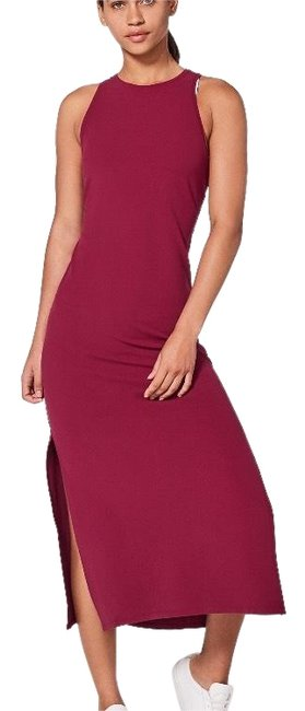 Item - Ruby Wine Get Long Casual Maxi Dress Size 10 (M)