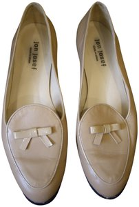 Jon Josef Leather Bow Spain Tan Flats
