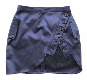 self-portrait Mini Skirt Navy
