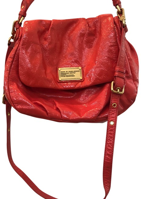 Item - Red Patent Leather Cross Body Bag