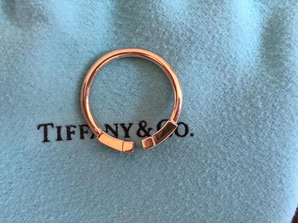 Tiffany & Co. Rose Gold 18k Wire Ring - Tradesy