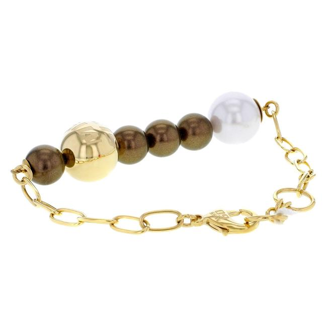Item - Gold Details About Collana Collection Stainless Steel Bracelet