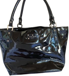 Added To Ping Bag Kate Spade Shoulder Black Patent Leather