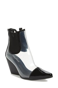 Jeffrey Campbell Clear Western Bootie Boots