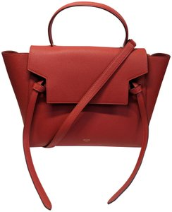 Céline Trapeze Leather Belt Shoulder Bag