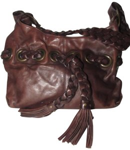 Kooba High-end Bohemian Xl Size Mint Condition Style By Braided Hobo Bag