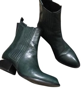 Alexander Wang dark green Boots