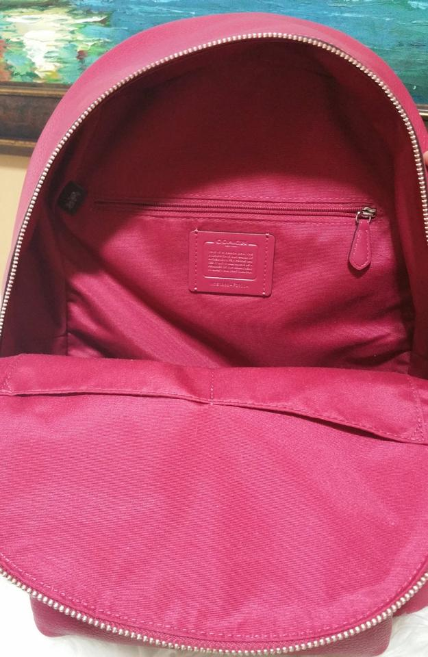 dd52e725719a Coach Charlie F29004 Hot Pink Leather Backpack - Tradesy