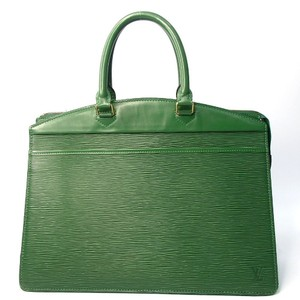 Louis Vuitton Epi Leather Riviera Satchel in Green