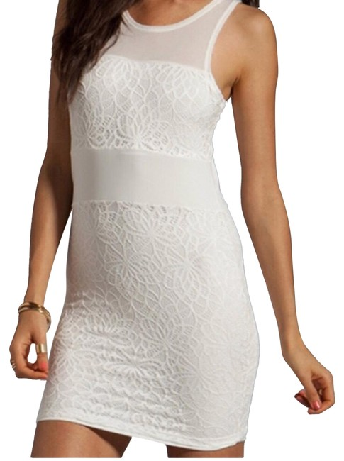 Item - White Short Night Out Dress Size 4 (S)