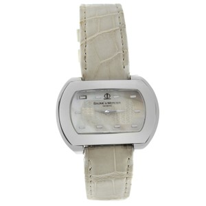 Baume & Mercier Authentic Ladies Baume & Mercier Hampton 65469 Stainless Steel MOP