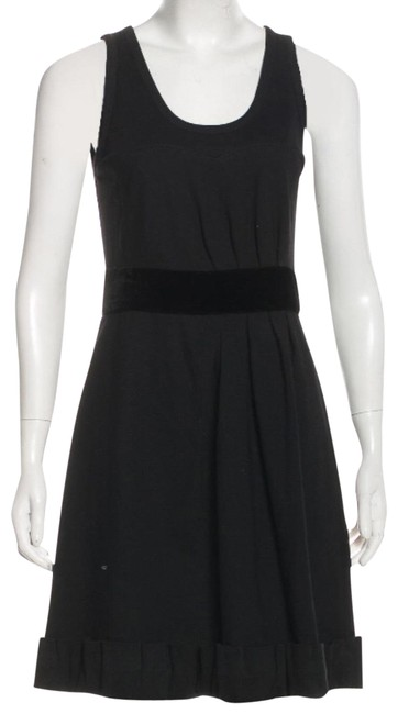 Preload https://img-static.tradesy.com/item/23578901/marc-by-marc-jacobs-black-velvet-trim-lbd-mid-length-night-out-dress-size-6-s-0-3-650-650.jpg
