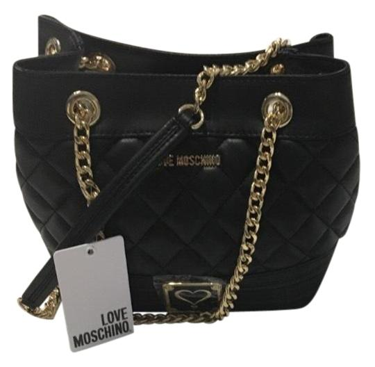 Preload https://img-static.tradesy.com/item/23578931/moschino-love-quilted-black-leather-tote-0-1-540-540.jpg