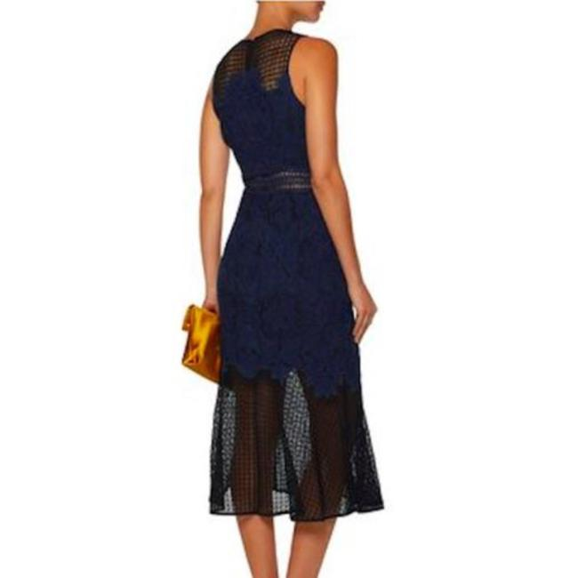 blue, black Maxi Dress by Jonathan Simkhai