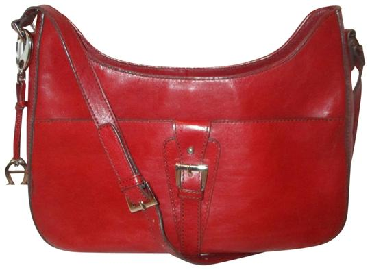 Preload https://img-static.tradesy.com/item/23579007/etienne-aigner-triple-compartment-red-leather-shoulder-bag-0-1-540-540.jpg