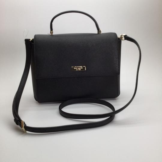 Kate Spade Leather Brynlee Handbag Satchel in Black