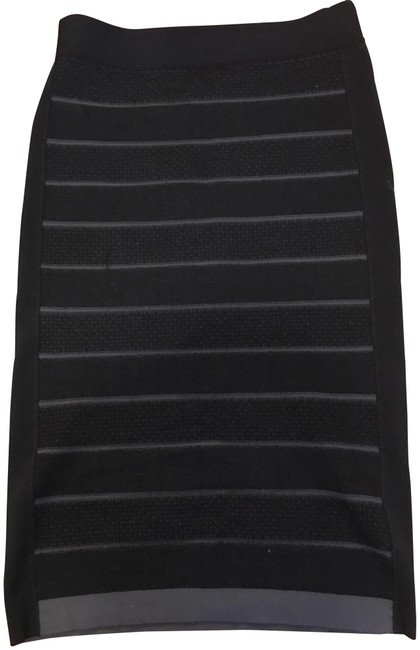 Preload https://img-static.tradesy.com/item/23579053/sonia-rykiel-black-and-green-knit-midi-skirt-size-12-l-32-33-0-1-650-650.jpg