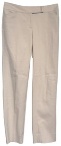 White House | Black Market Straight Pants Cream