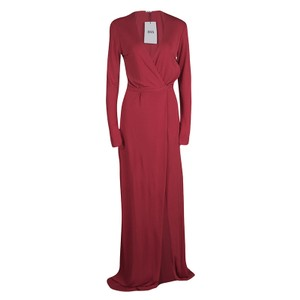 Red Maxi Dress by ISSA London Jersey Maxi