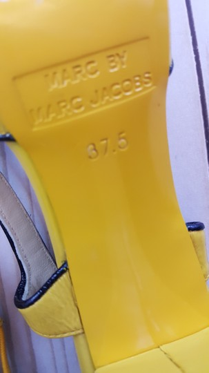 Marc by Marc Jacobs Yellow Pumps