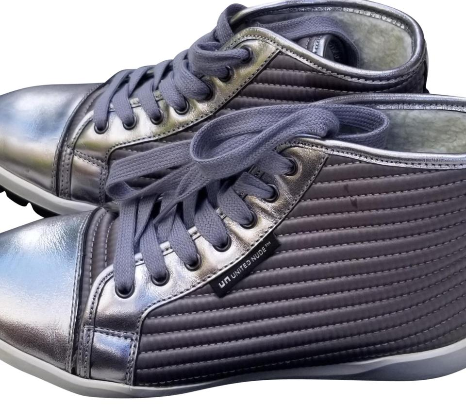 United Nude Silver High High Silver Tops Sneakers 98b3a0