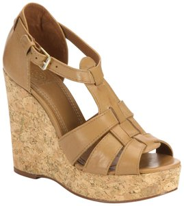 36e058c91 Brown Tory Burch Wedges - Up to 90% off at Tradesy