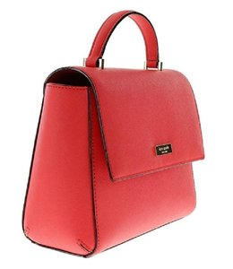 Kate Spade Leather Brynlee Handbag Satchel in Geranium
