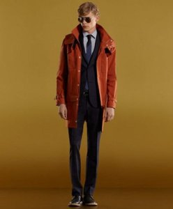 Gucci Orange Men's Mac Convertible Jacket Blazer 48/Us 38 276979 Groomsman Gift