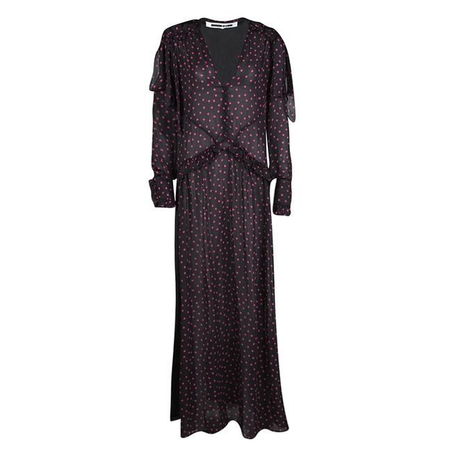 Preload https://img-static.tradesy.com/item/23579477/mcq-by-alexander-mcqueen-black-polka-dotted-sleeve-long-casual-maxi-dress-size-6-s-0-0-650-650.jpg