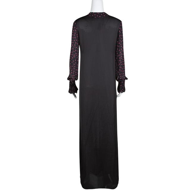 Black Maxi Dress by MCQ by Alexander McQueen Longsleeve Maxi Polyester
