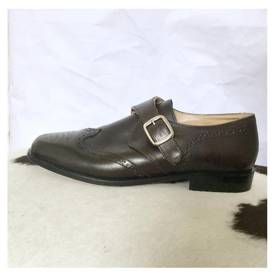 Preload https://img-static.tradesy.com/item/23579495/free-lance-dark-brown-monk-strap-with-wingtip-perfing-detail-flats-size-eu-385-approx-us-85-regular-0-0-540-540.jpg