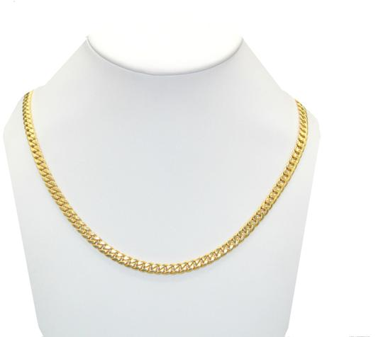 Preload https://img-static.tradesy.com/item/23579601/yellow-gold-14k-miami-cuban-link-chain-for-men-necklace-0-5-540-540.jpg