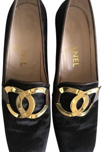 Chanel Chocolate Brown Pumps