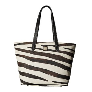 Dooney & Bourke Leather Tote in Multicolor