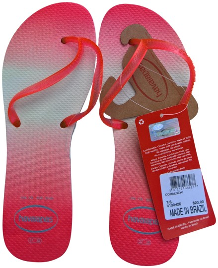 Preload https://img-static.tradesy.com/item/23579825/havaianas-coral-flats-size-us-7-regular-m-b-0-1-540-540.jpg