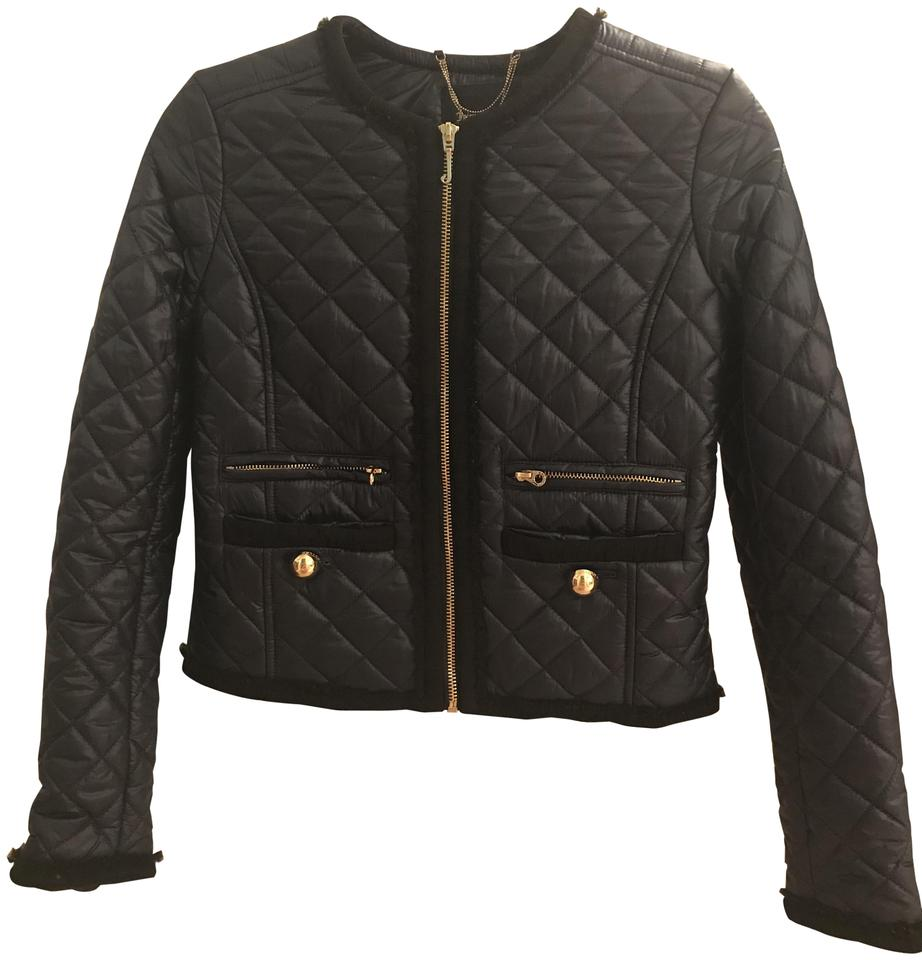 ad190a03e6bc Juicy Couture Navy Quilted Lightweight Jacket Coat Size 2 (XS) - Tradesy