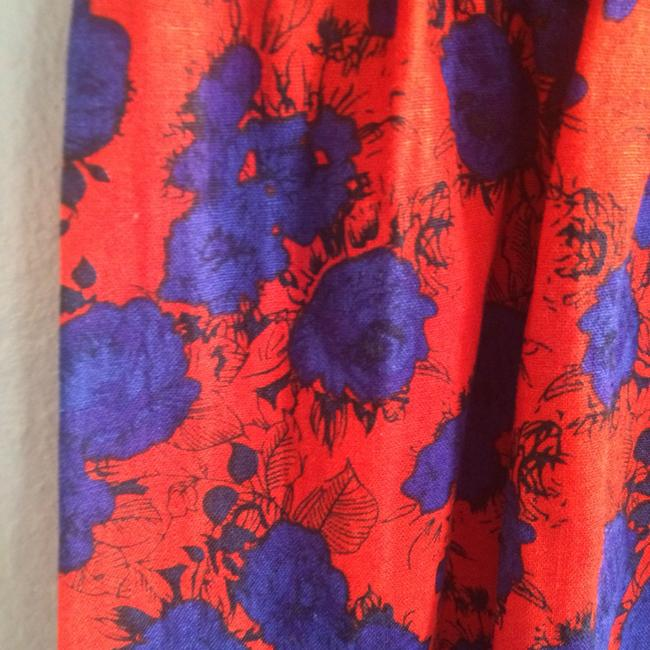 Urban Outfitters short dress red and blue on Tradesy