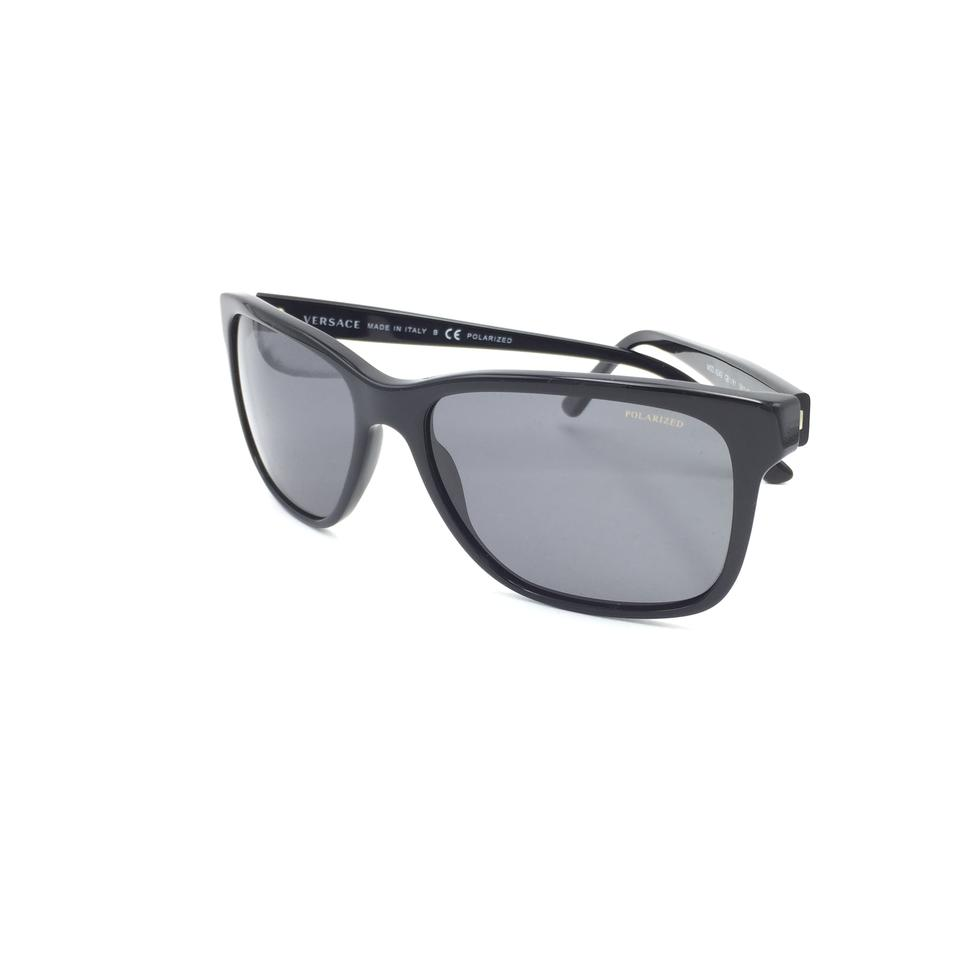 788e71de08b1c Versace Square Gray Polarized 4249 GB1 81 Sunglasses Image 10. 1234567891011
