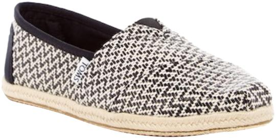 Preload https://img-static.tradesy.com/item/23580052/toms-black-woven-rope-sole-flats-size-us-55-regular-m-b-0-1-540-540.jpg