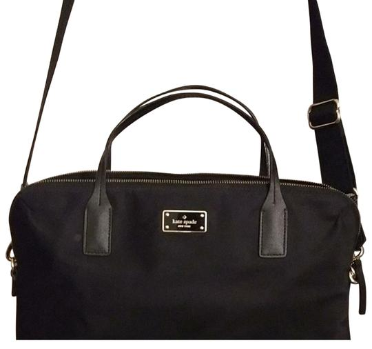 Preload https://img-static.tradesy.com/item/23580230/kate-spade-wilson-road-daveney-black-nylon-satchel-0-2-540-540.jpg
