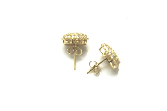 Other Yellow Gold 14 Kt. Cubic Zirconia (Cz) For Women Earrings