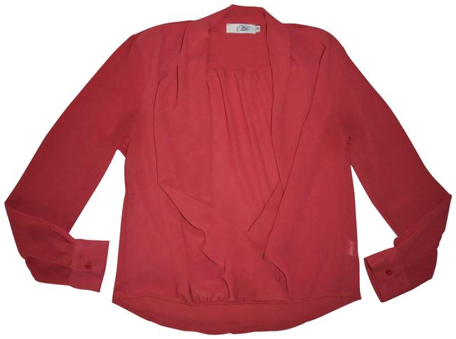 Preload https://img-static.tradesy.com/item/23580242/elodie-coral-long-sleeved-layering-blouse-size-2-xs-0-1-650-650.jpg