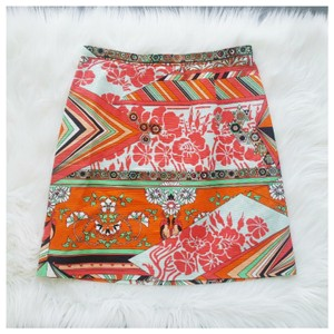 MSGM Mini Skirt Orange