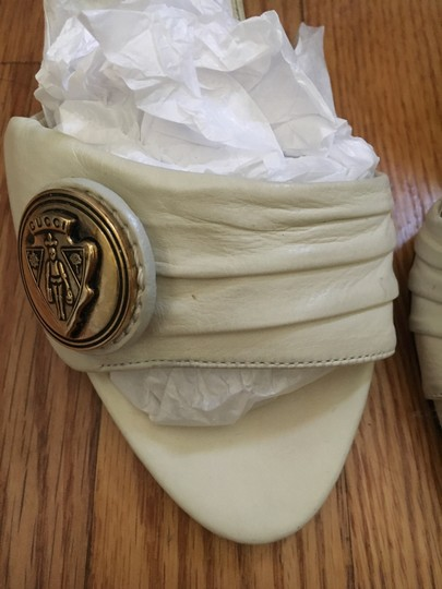 Gucci Off white Mules