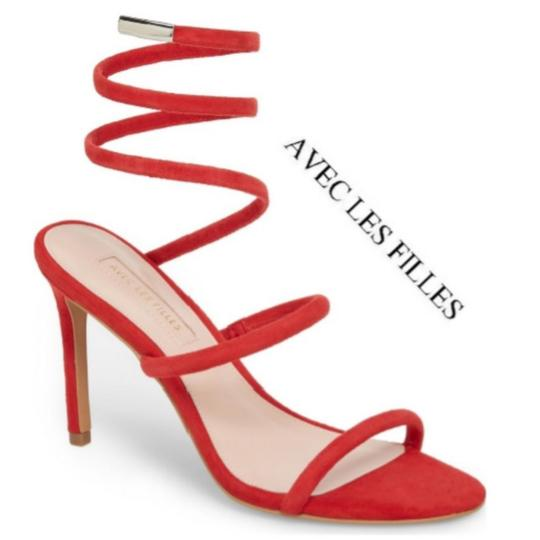 Preload https://img-static.tradesy.com/item/23580346/red-kid-suede-coiled-ankle-wrap-formal-shoes-size-us-8-regular-m-b-0-1-540-540.jpg