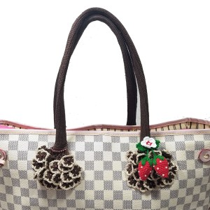Other Handmade Handle Covers For Louis Vuitton Neverfull Tivoli GM a3f84b5a3e789